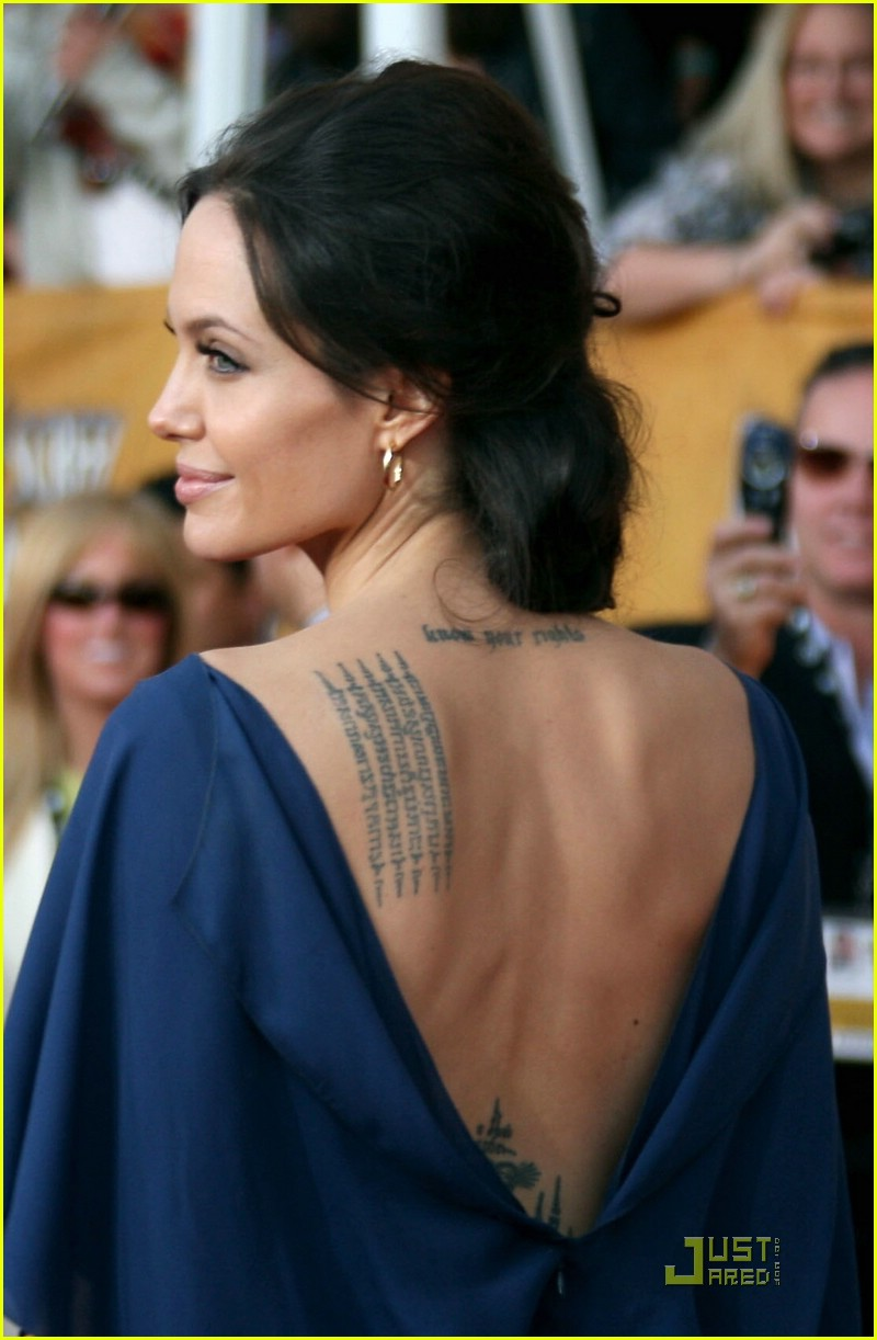 angelina jolie backwards dress sag awards 121686941