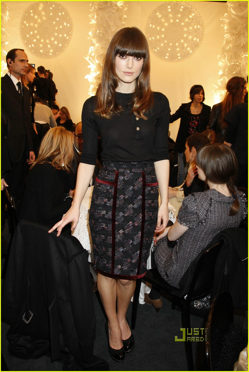 keira knightley karl lagerfeld chanel 07