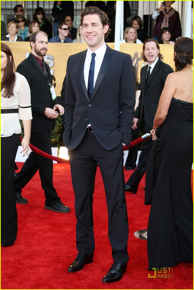 john krasinski emily blunt sag awards 2009 03