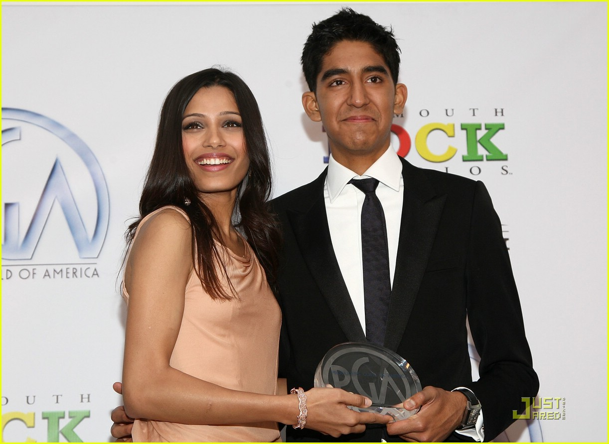freida pinto producers guild awards 08