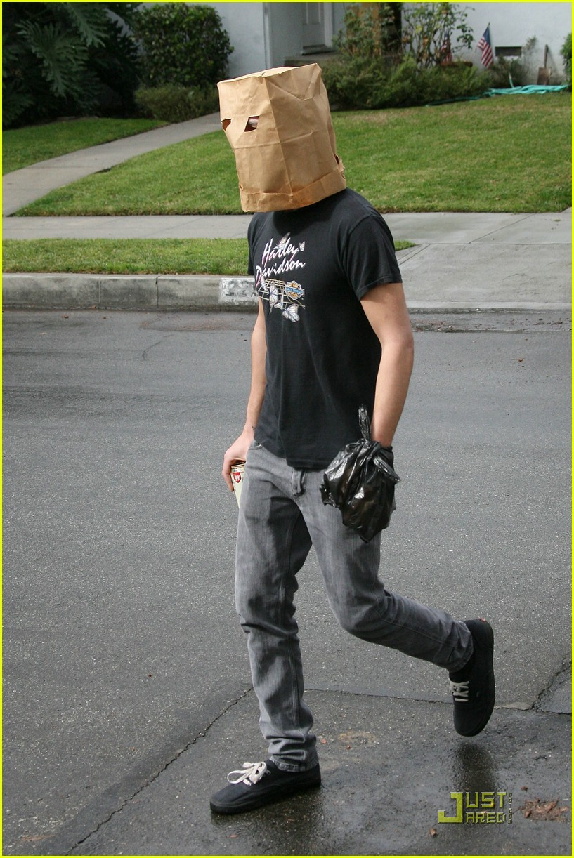 shia labeouf paper bag head 04