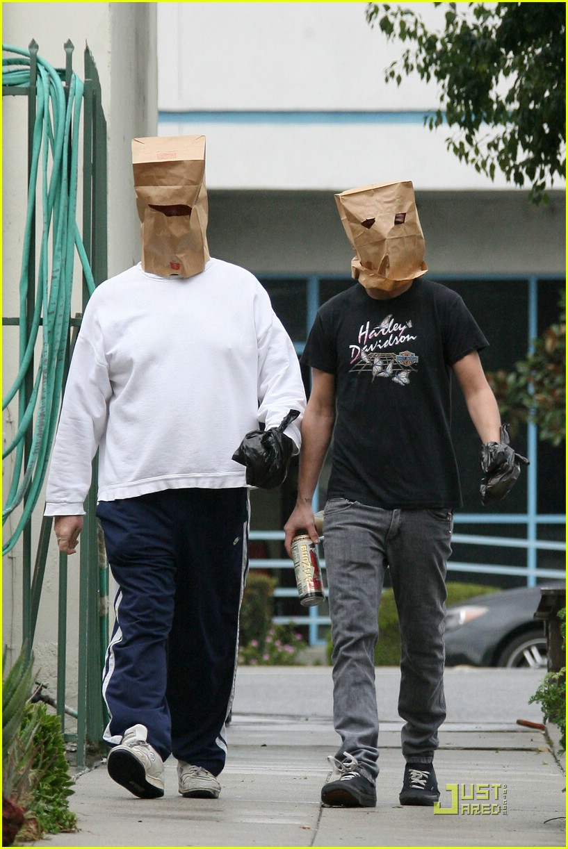 shia labeouf paper bag head 161671421
