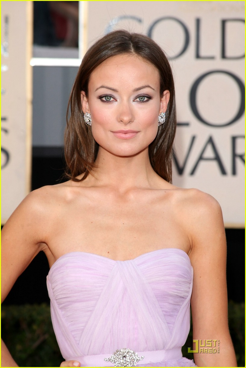 olivia wilde golden globes 2009 10