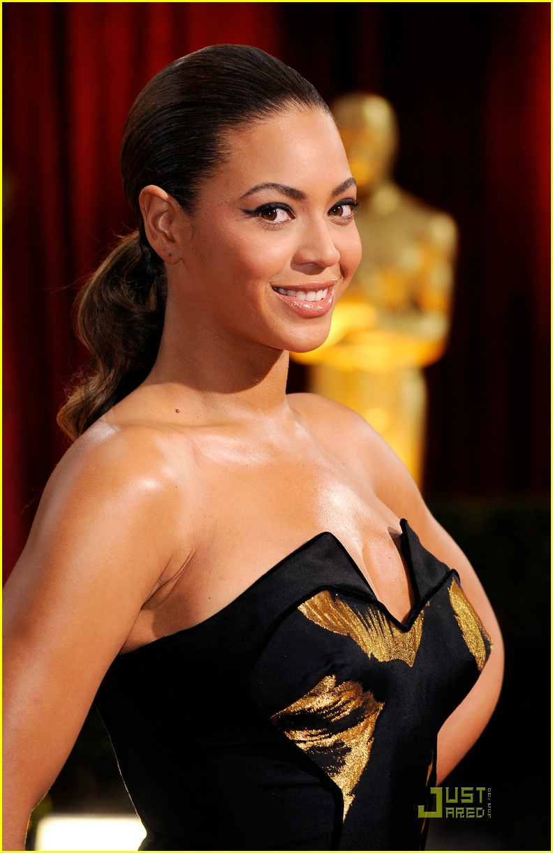 beyonce knowles 2009 oscars 02