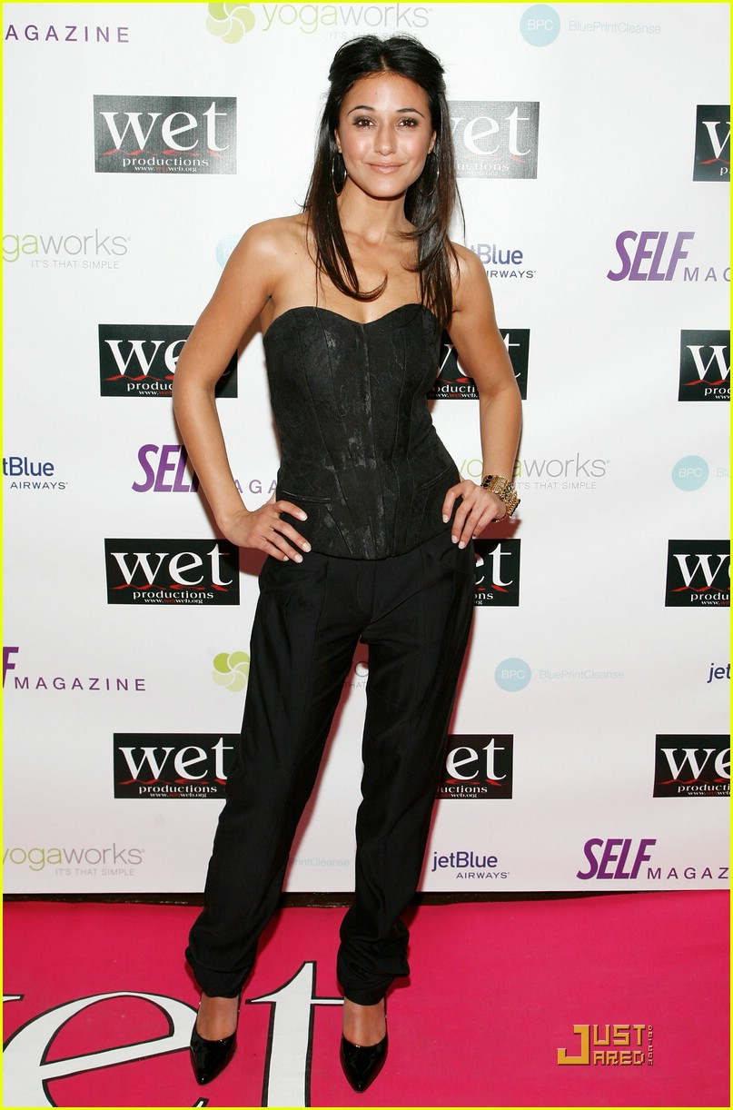 Full Sized Photo of emmanuelle chriqui love benefit 01 | Photo 1716811 ...