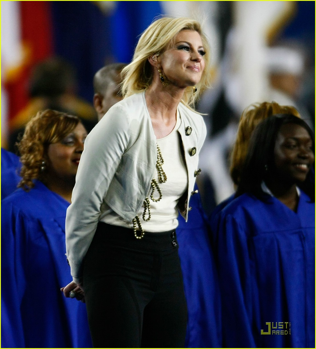 faith hill jennifer hudson superbowl 06
