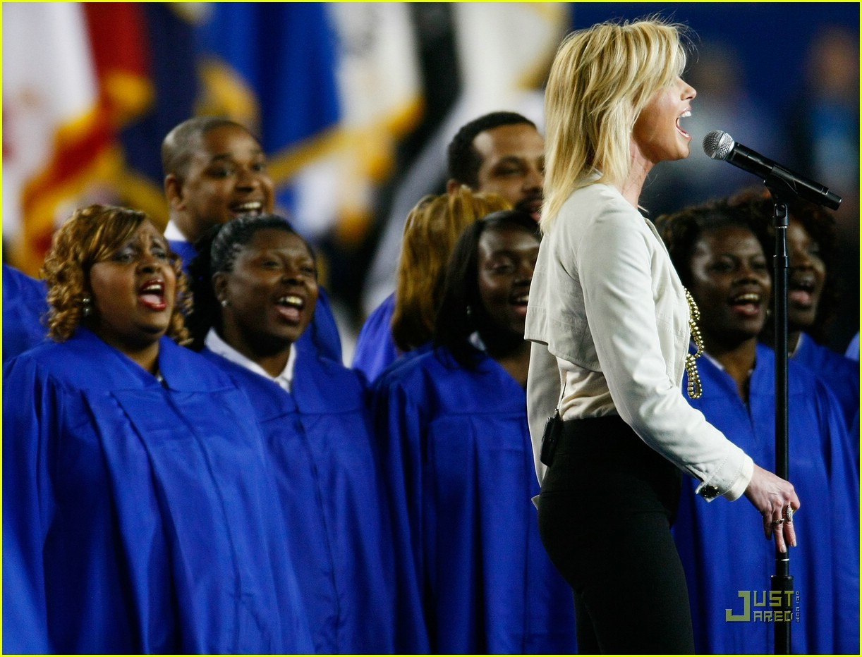 faith hill jennifer hudson superbowl 22