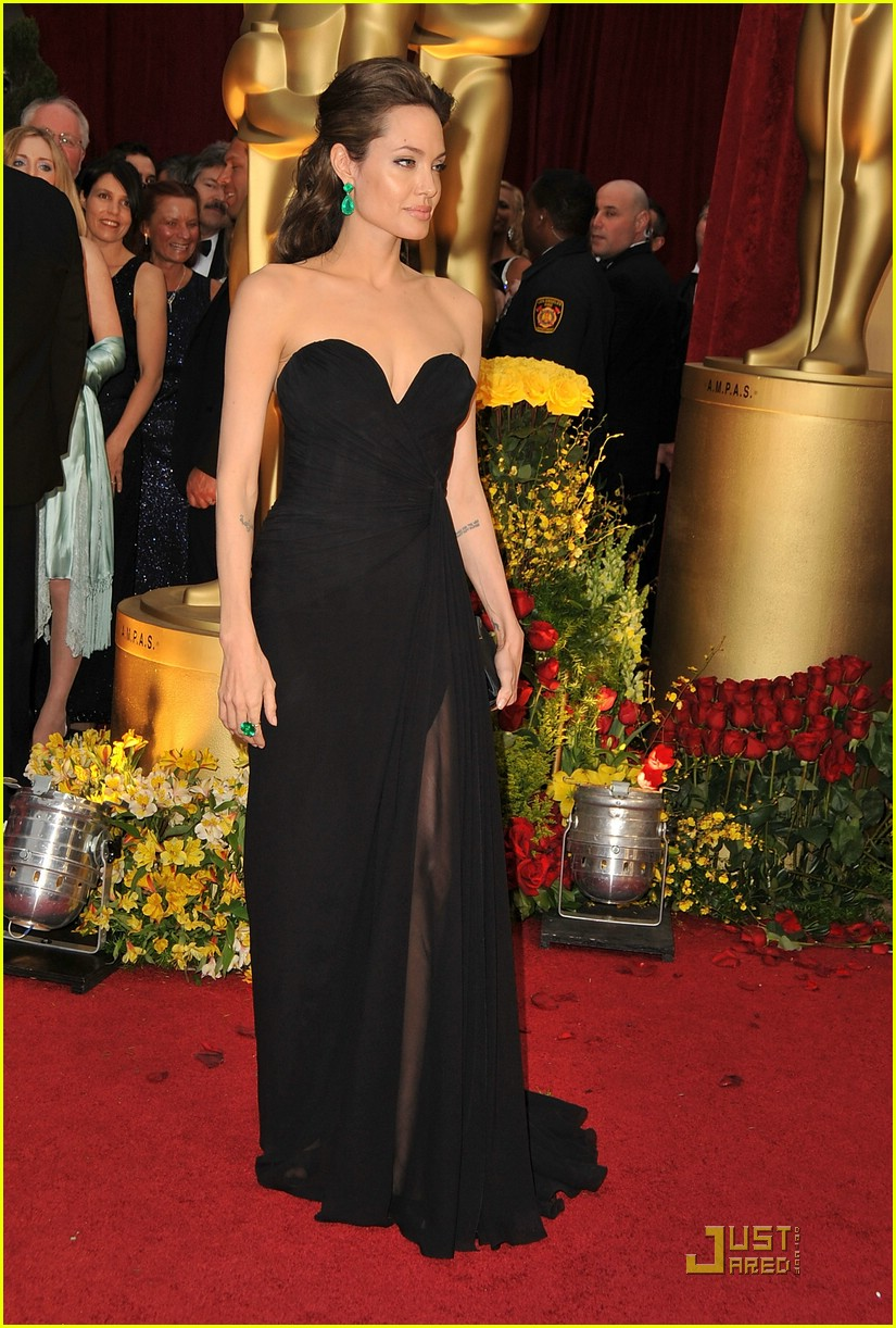 angelina jolie brad pitt 2009 oscars 19