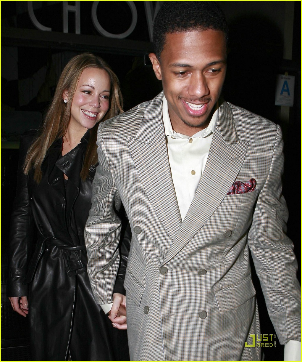 mariah carey nick cannon mr chow 101702521