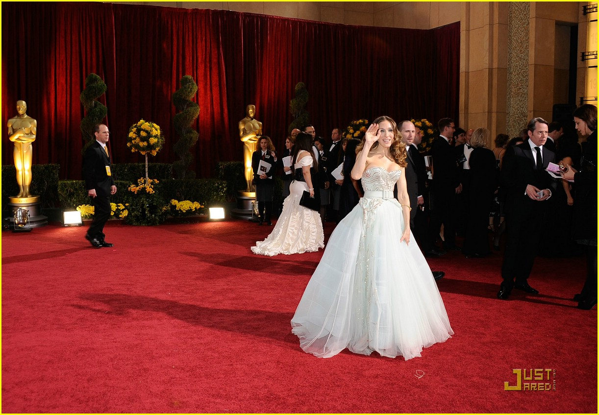 sarah jessica parker 2009 oscars 02