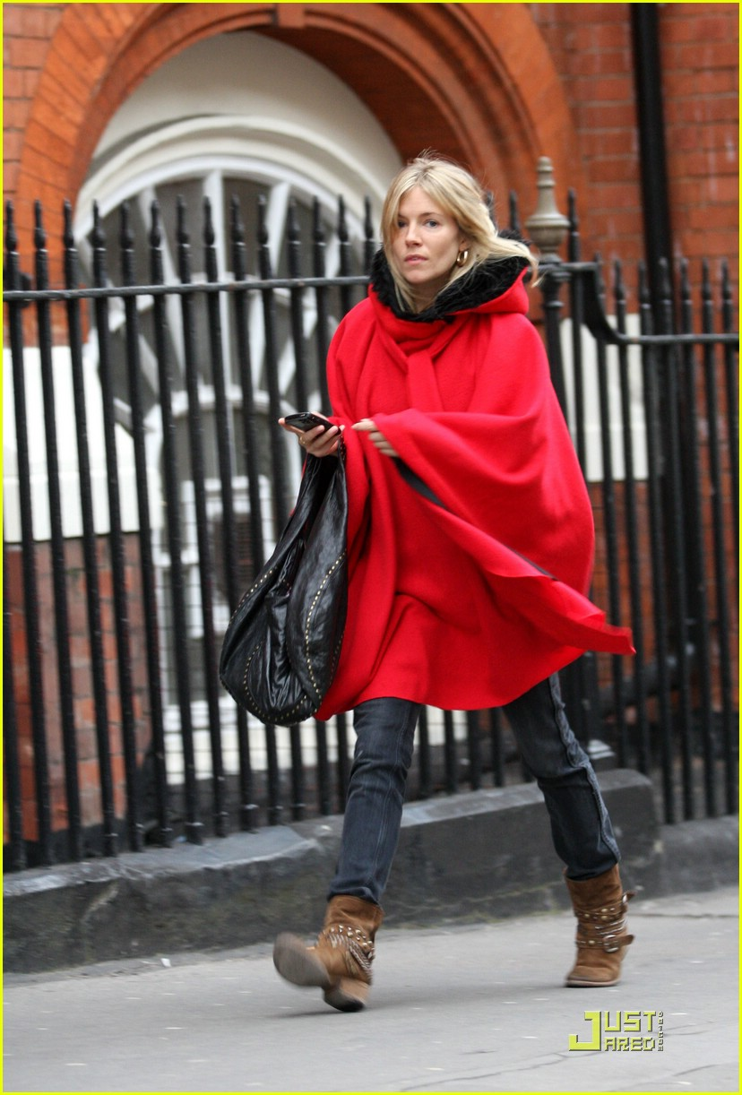 Sienna Miller is Little Red Riding Hood: Photo 1754001 | Sienna ...
