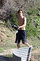 zac efron shirtless hiking hunk 19