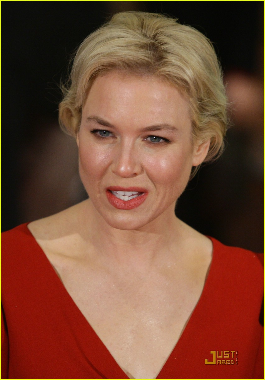 renee zellweger rocks red 15