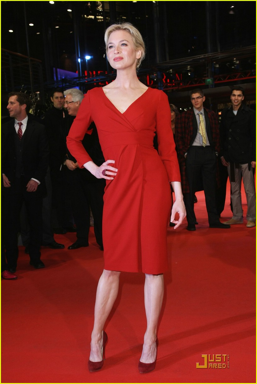renee zellweger rocks red 30