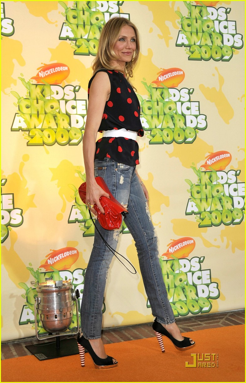 cameron diaz 2009 kids choice awards 21