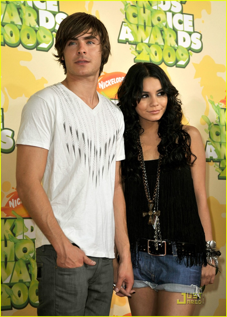 zac efron vanessa hudgens 2009 kids choice awards 09