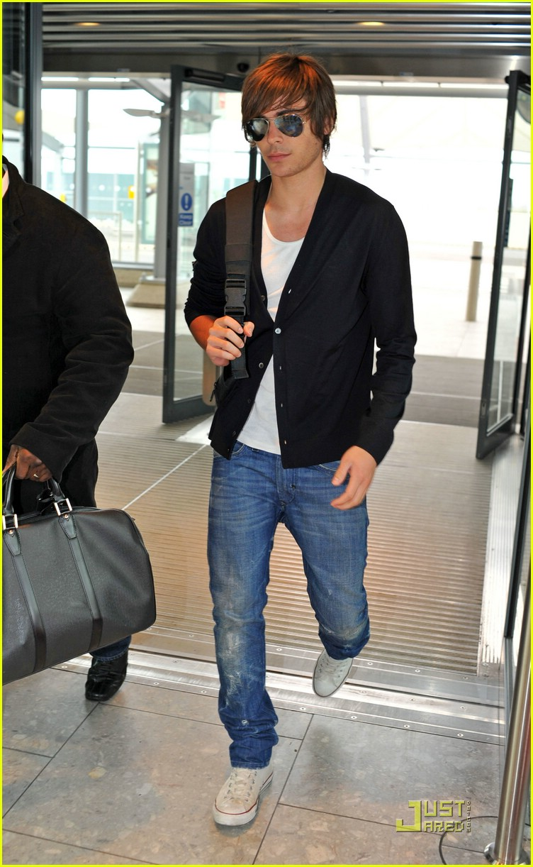 zac efron leaves london 02