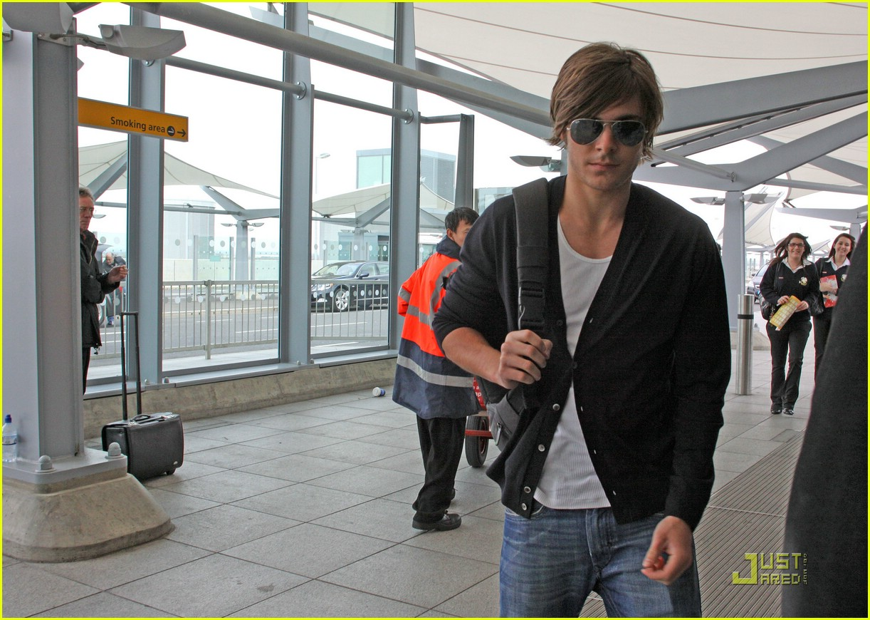 zac efron leaves london 06