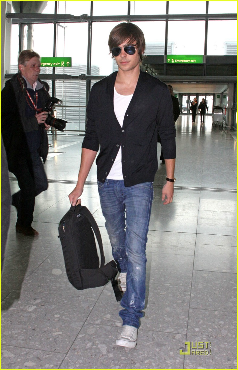 zac efron leaves london 10