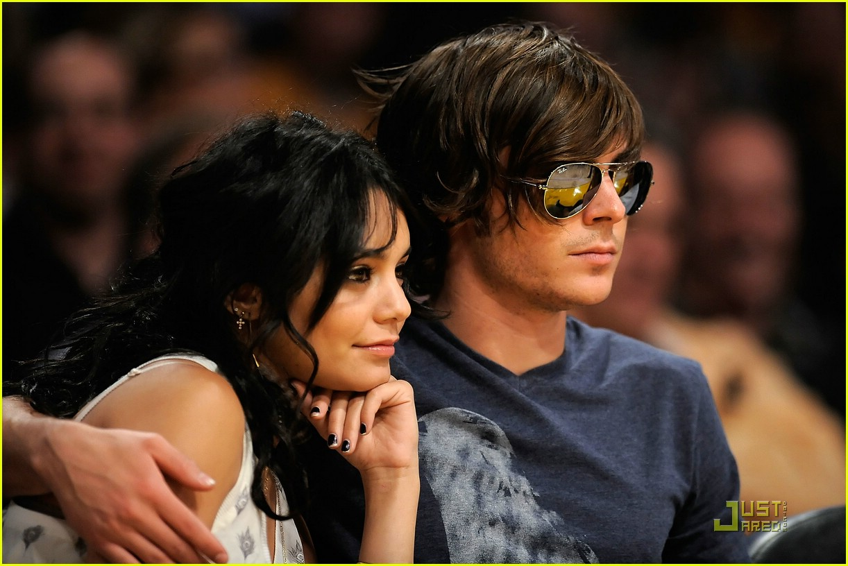 zac efron vanessa hudgens lakers 13