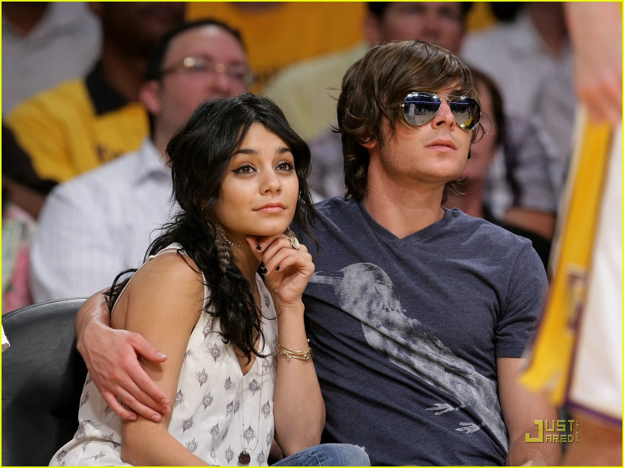 zac efron vanessa hudgens lakers 27