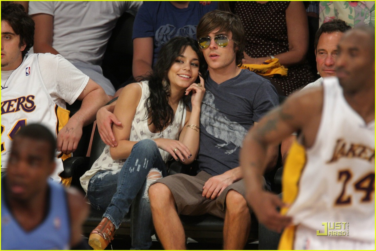 zac efron vanessa hudgens lakers 30