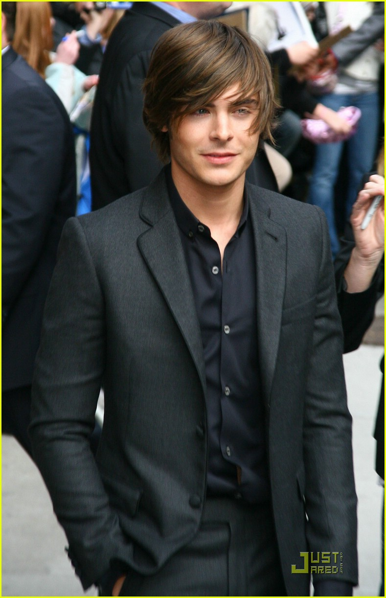 Zac Efron is a Late Show Lad  Zac Efron 2009
