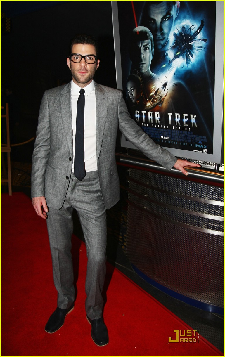 chris pine zachary quinto new zealand premiere 12