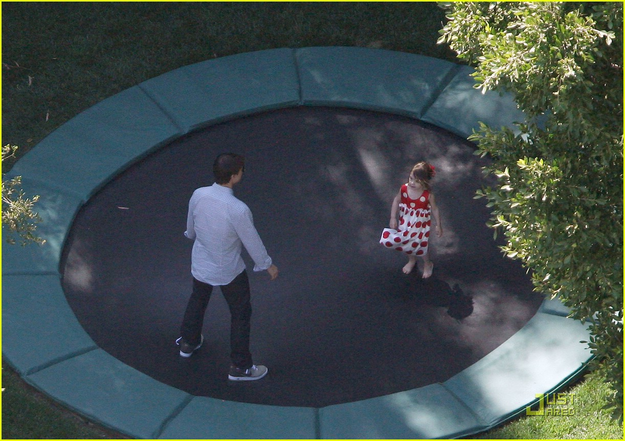 suri cruise trampoline birthday 13