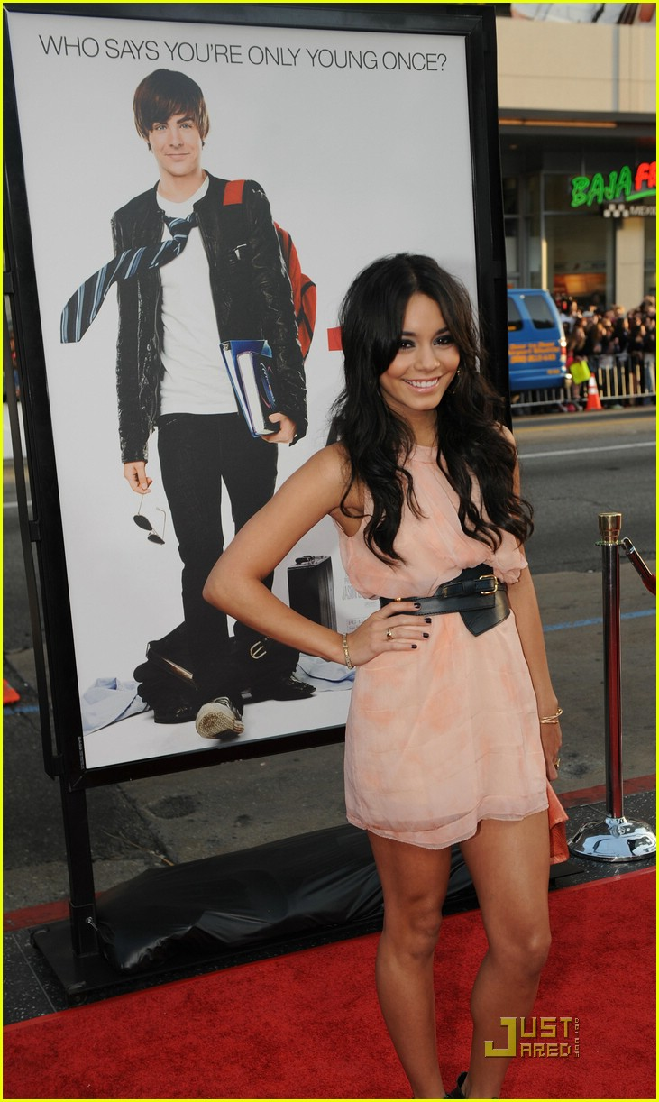 zac efron vanessa hudgens 17 again premiere 07