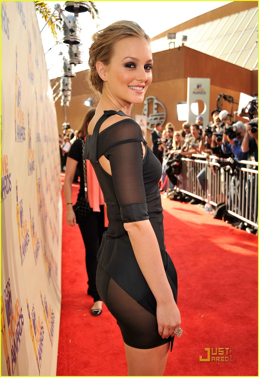 leighton meester mtv movie awards 2009 01