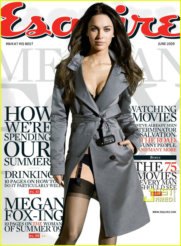 megan fox esquire june 2009 cover 02