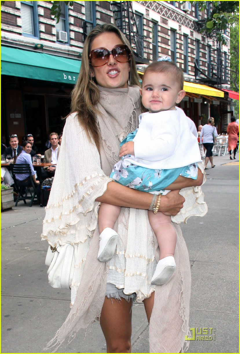 Full Sized Photo of alessandra ambrosio beaming baby 02 ...