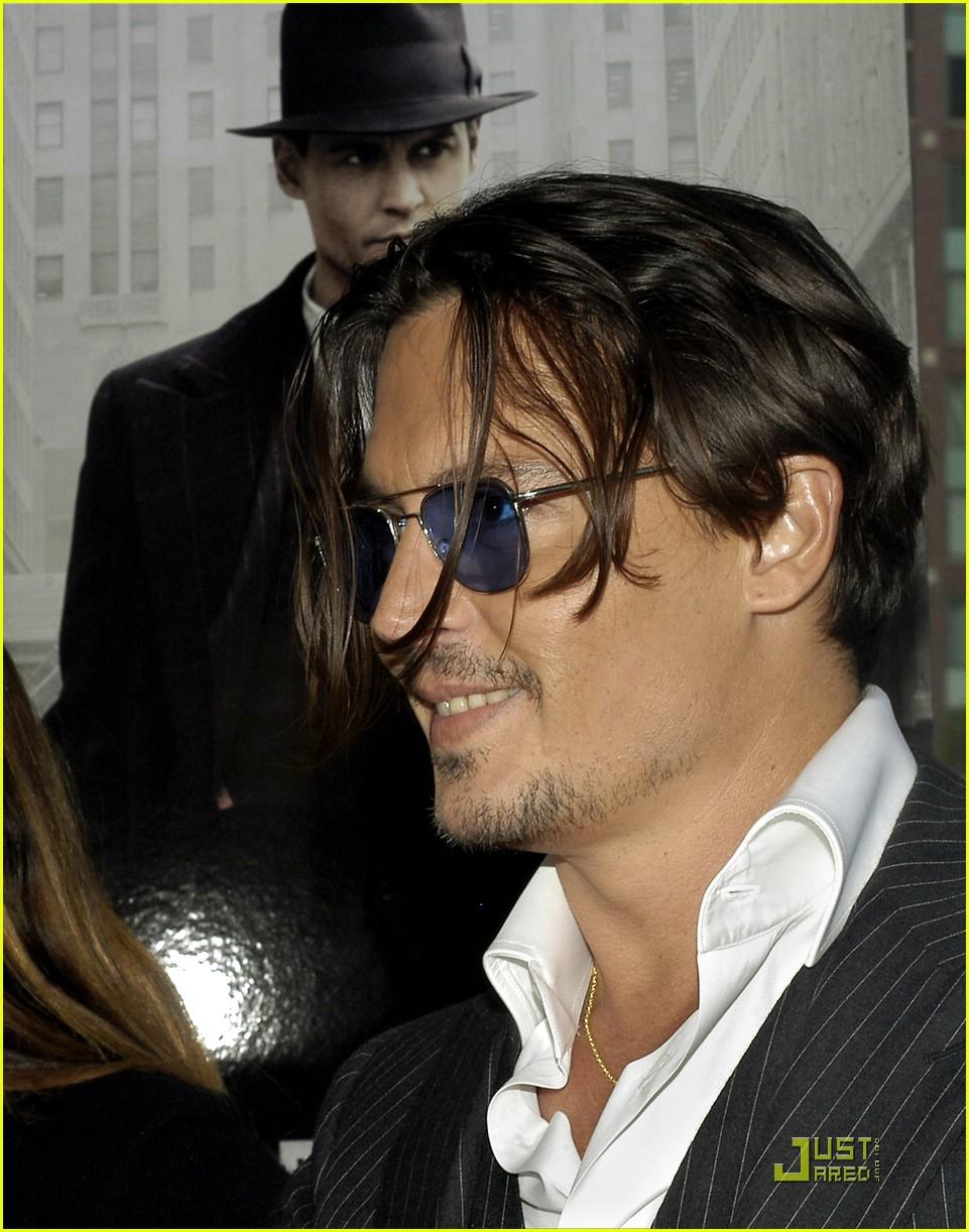 Terrific Johnny Depp Pursues Public Enemies Photo 1997081 Johnny Depp Short Hairstyles For Black Women Fulllsitofus