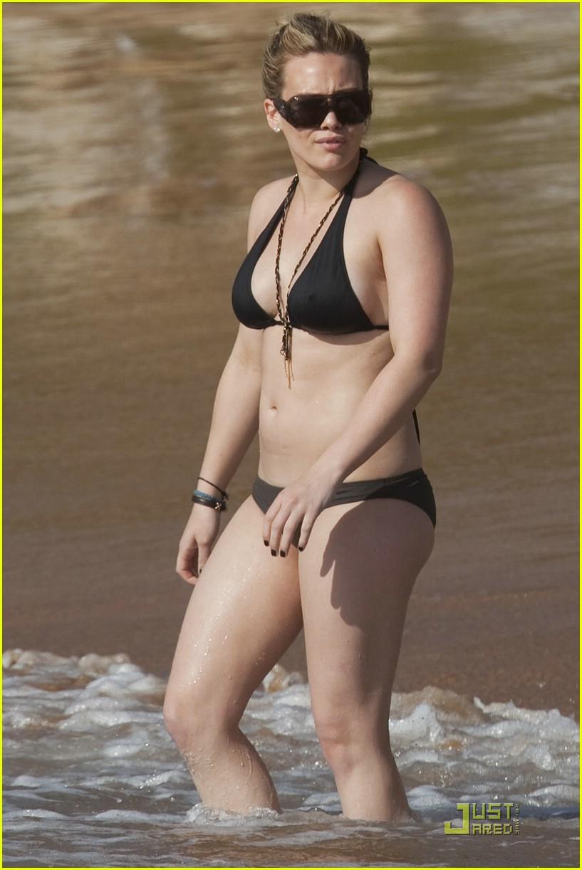Hilary Duff Bikini Shots