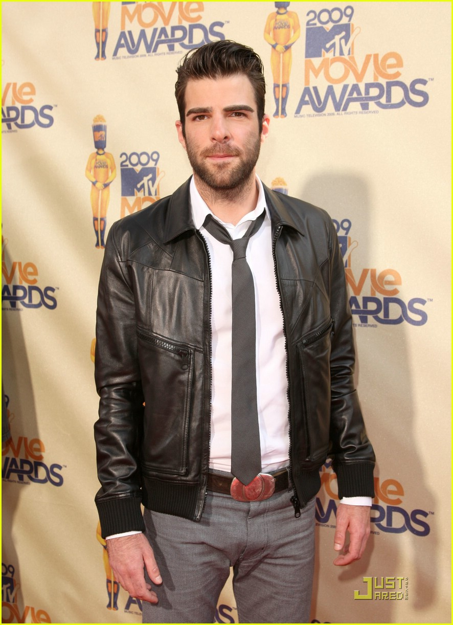 zachary quinto mtv movie awards 2009 01