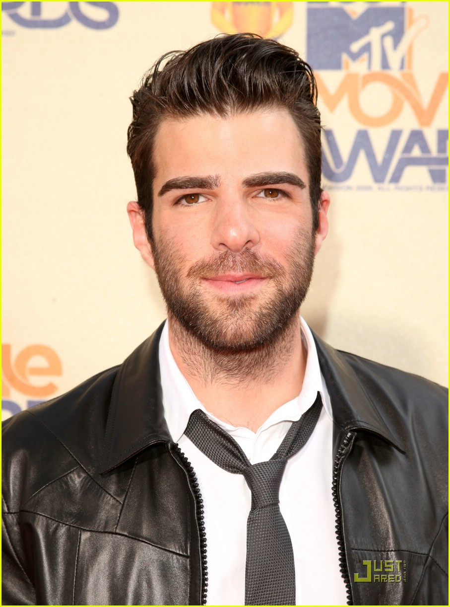 zachary quinto mtv movie awards 2009 02