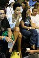 rihanna chris brown basketball game 05