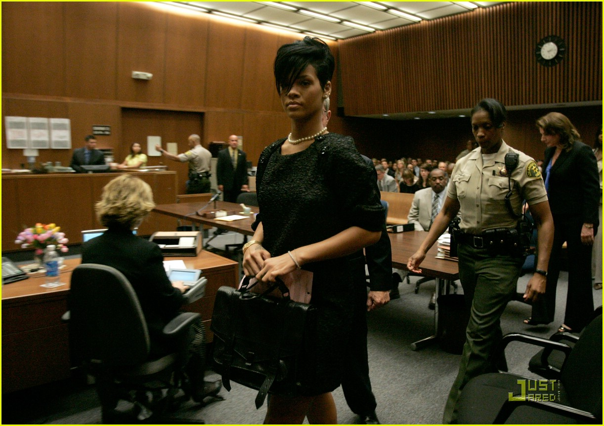 rihanna chris brown court 05