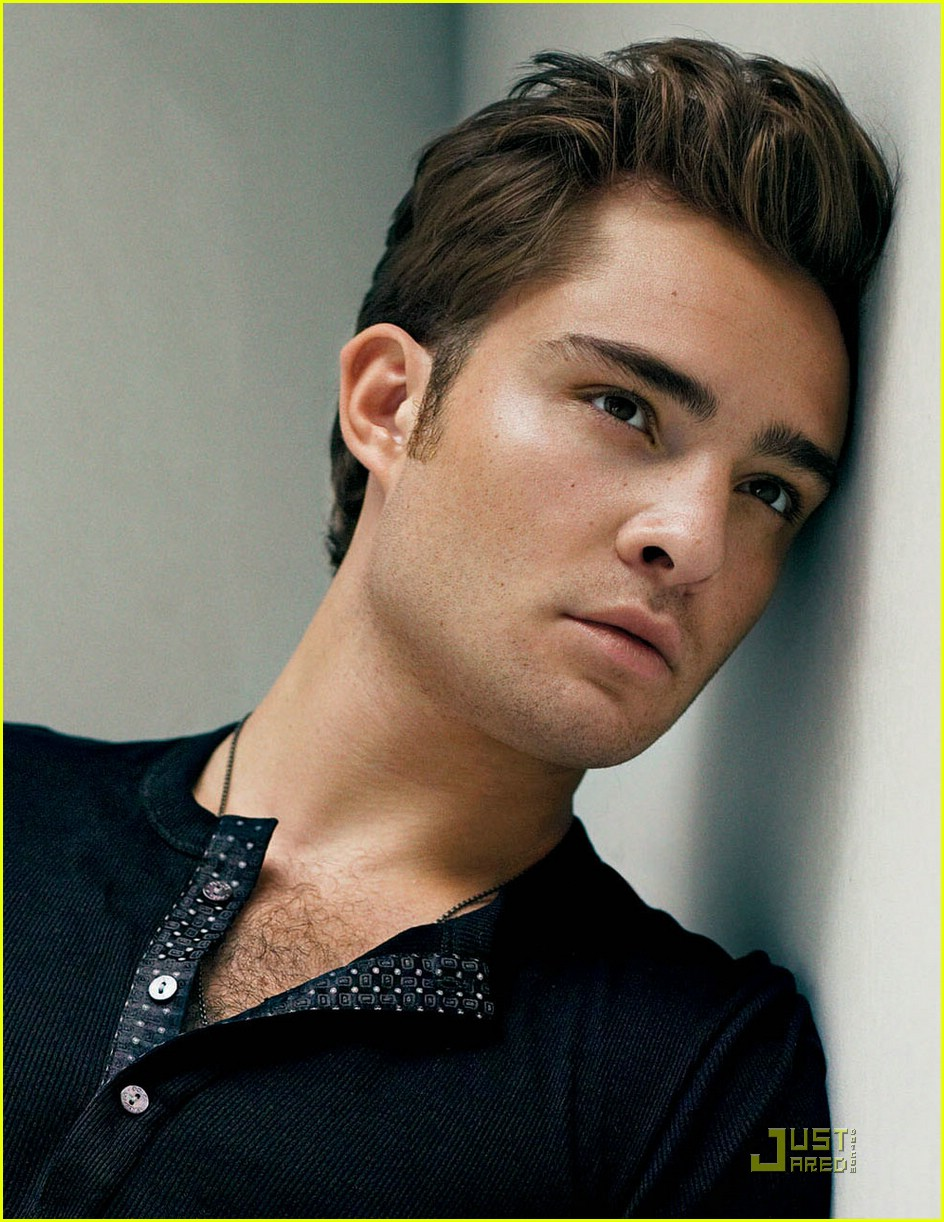 ed westwick gq magazine fall fashion 06