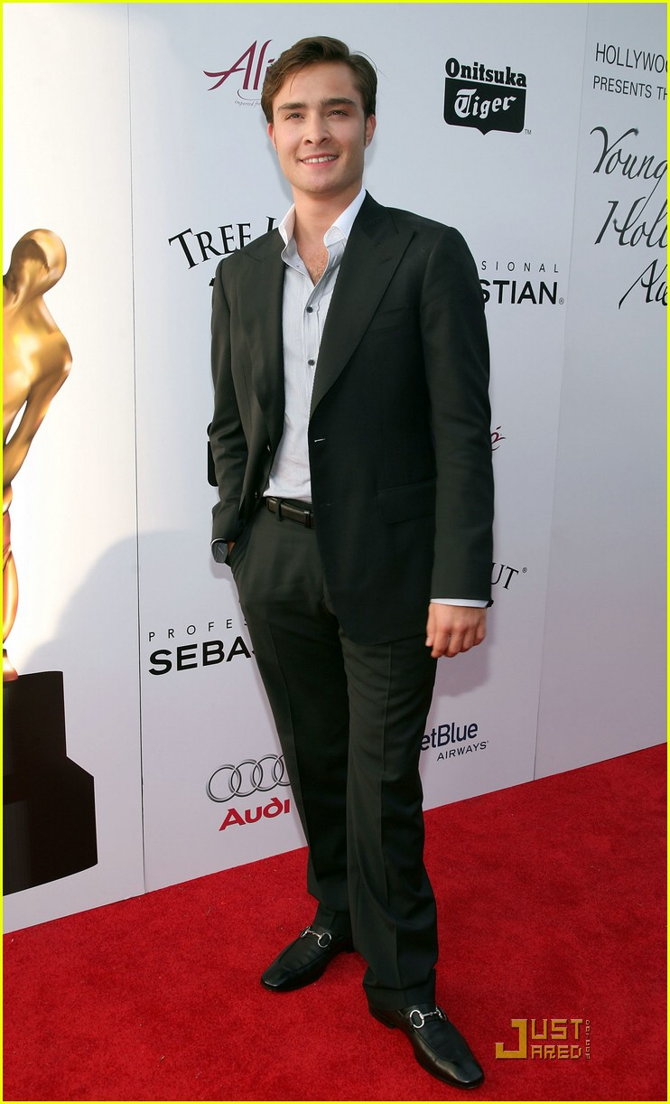 ed westwick young hollywood awards 03