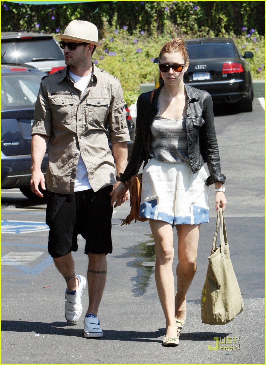 justin timberlake jessica biel fourth of july 13
