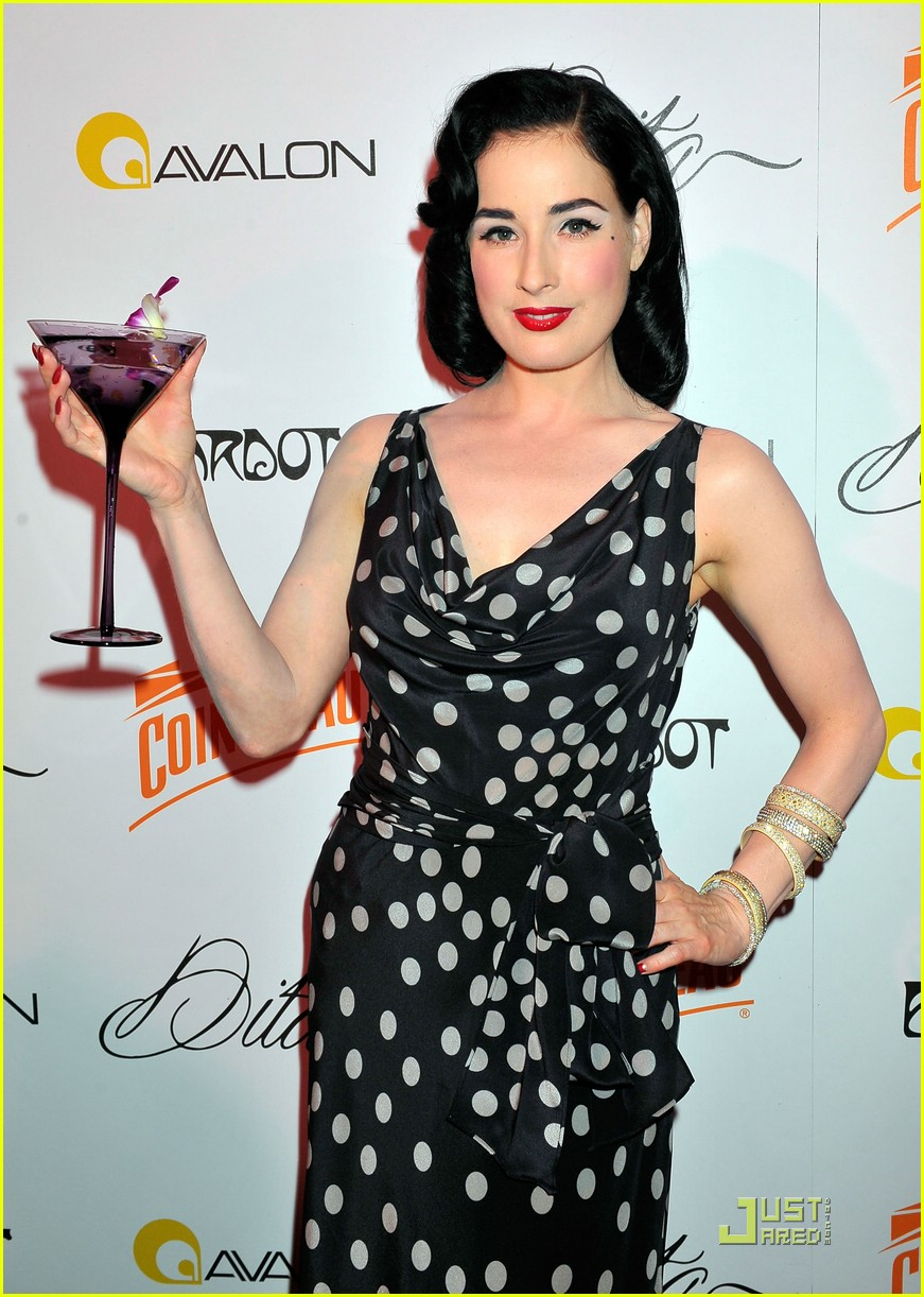 dita von teese martini glass 132069142