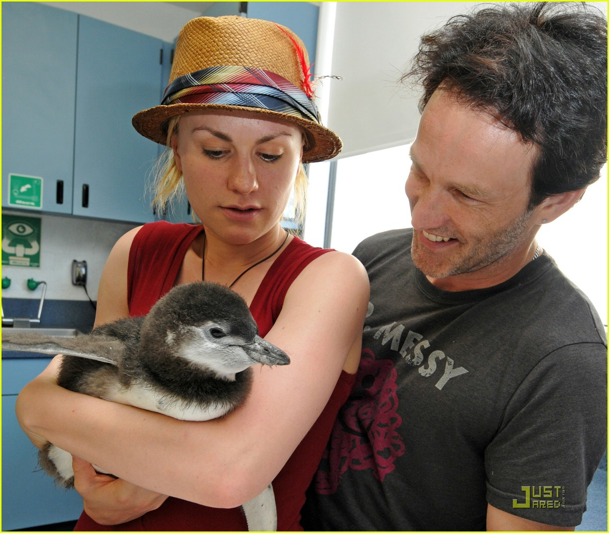 anna paquin stephen moyer seaworld 032081322