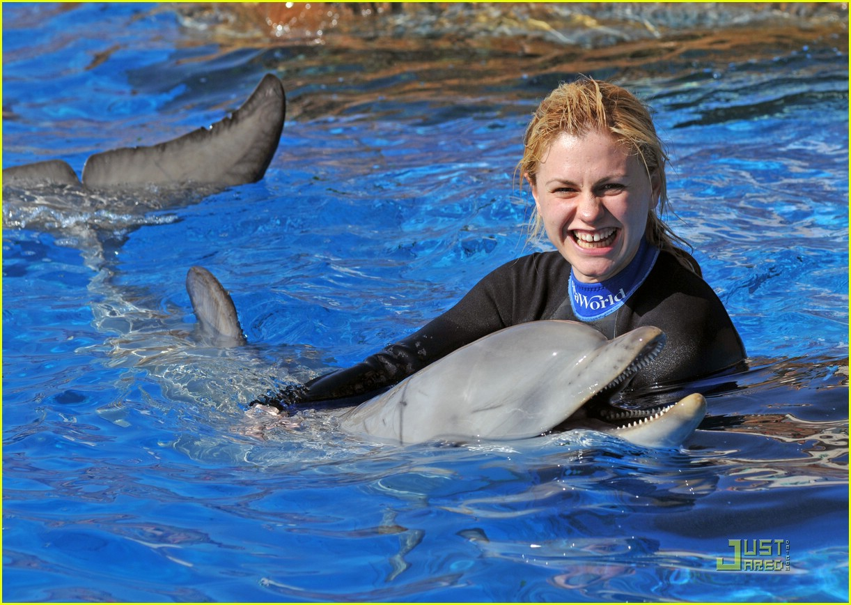 anna paquin stephen moyer seaworld 11