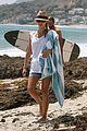 jessica alba bikini malibu beach 08