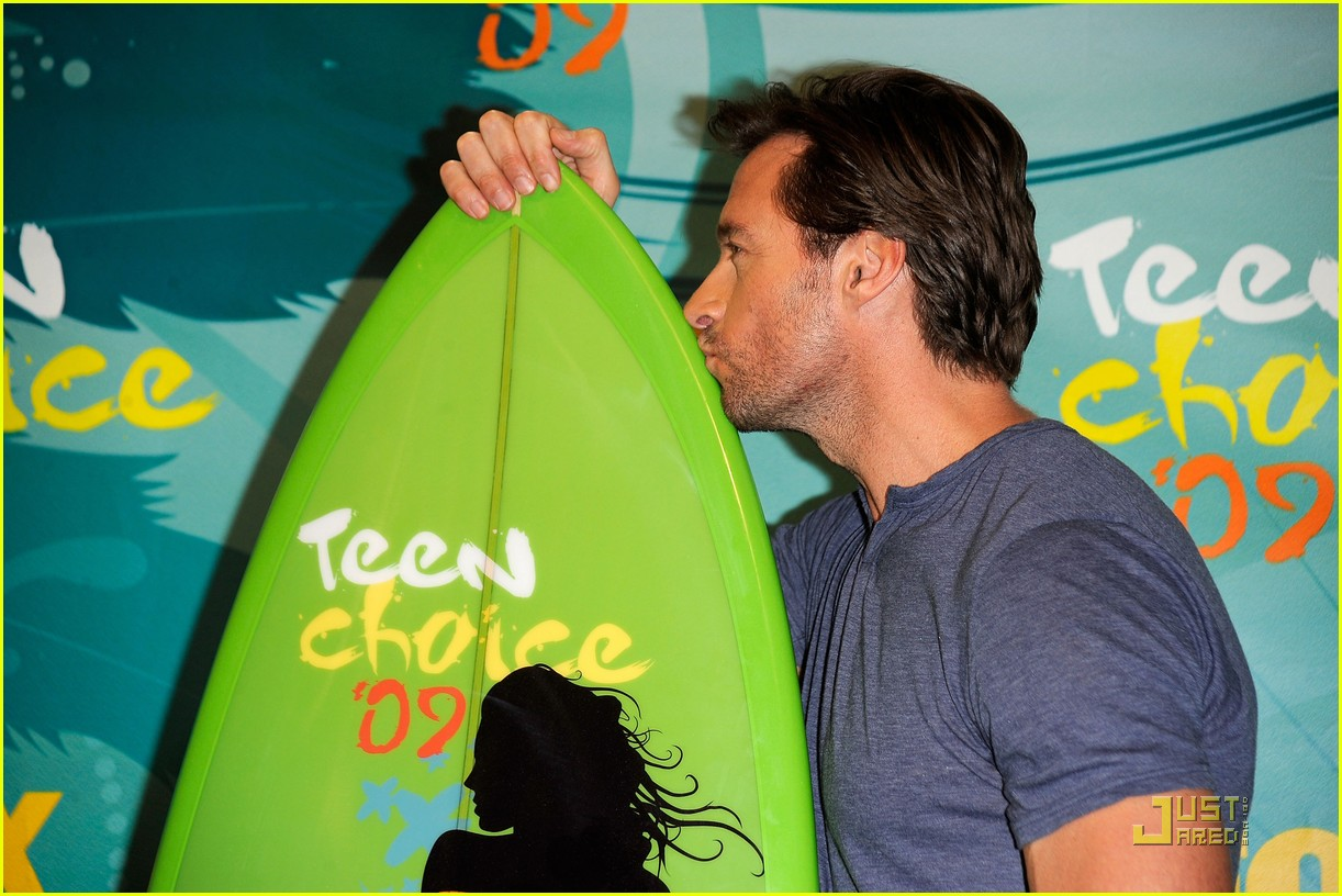 hugh jackman jordana brewster teen choice awards 09