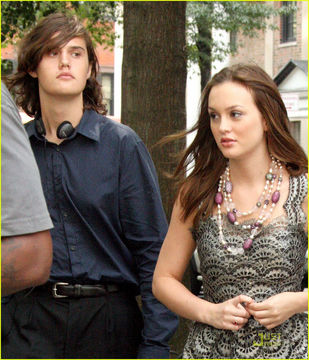 leighton meester brother lex 01