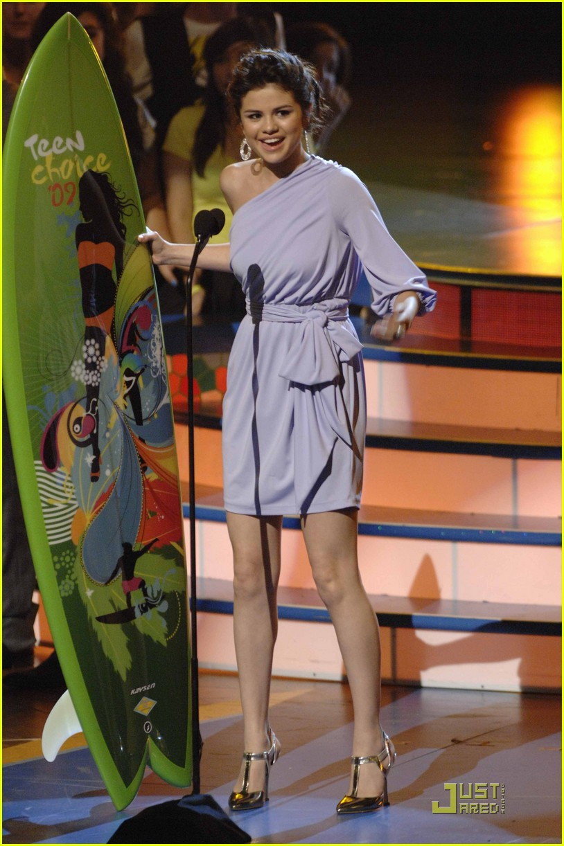 selena gomez teen choice awards 2009 05