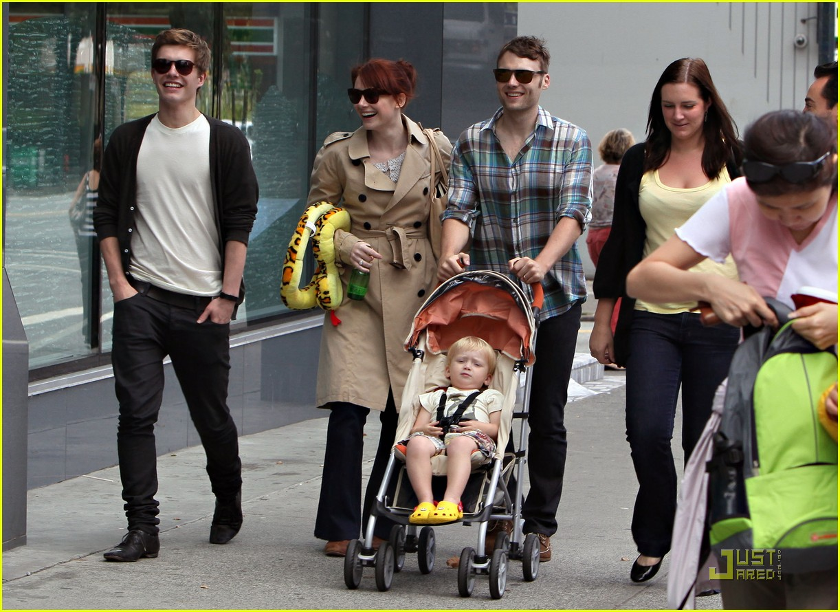 bryce dallas howard seth gabel son theodore 20